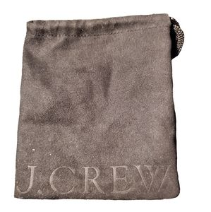 J Crew Small Jewelry Pouch/Dustbag NWOT